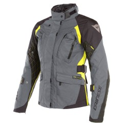 Chaqueta Dainese Mujer X-Tourer D-Dry Gris / Negro / Amarillo