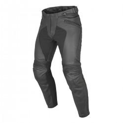 Pantalón Piel Dainese Pony C2 Perforado Negro