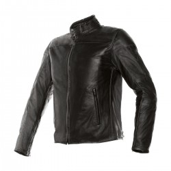 Chaqueta Piel Dainese Mike Negro