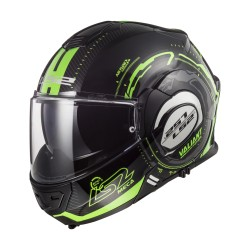 CASCO LS2 VALIANT FF399 NUCLEUS Black Glow Green