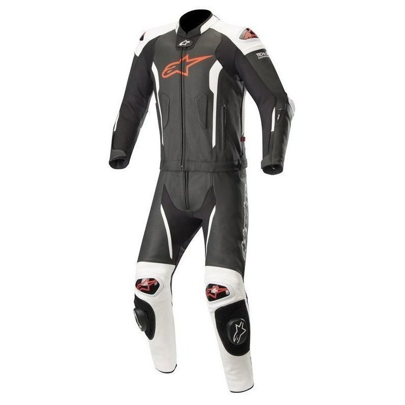 Mono Alpinestars Missile for Tech-Air Negro Blanco Rojo 2P