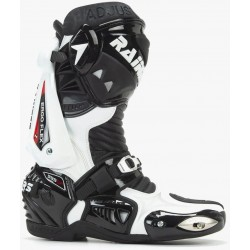 Botas Racing Rainers 999 Blanco Negro