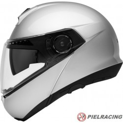 Casco Schuberth C4 Plata Brillo
