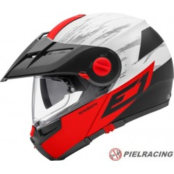 Casco Schuberth E1 CROSSFIRE ROJO