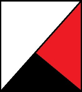 Blanco-Rojo-Negro