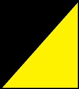 Negro-amarillo mate